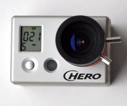 Lens Gopro hd Gopro hd Modified Lens 1080p